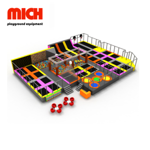 Kids & Adults Indoor Commercial Trampoline Park for Sale