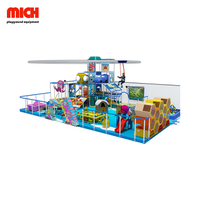 Delicate Kids Indoor Soft Playground with Roller Glider