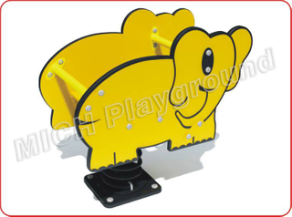 Elephant Animated Outdoor Spring Rocking Horse