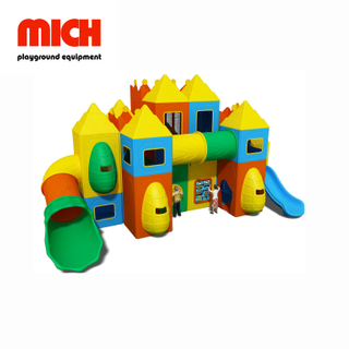 Safe Indoor Plastic Playground for Kids