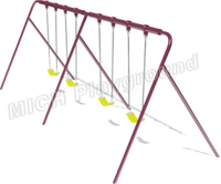 Outdoor playground baby swing 1114E