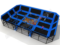 MICH Indoor Trampoline Park Design for Amusement 3071A