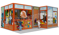 Mich Funny Indoor Amusement Playground 6608A