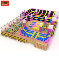 ASTM Approved Industrial Commercial Trampoline Park for Kids
