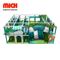 Small Jungle Theme Soft Indoor Playground for Kids