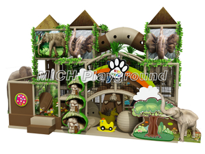 Elephant Themed Kids Indoor Soft Play Area