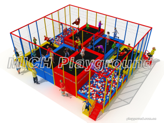 Different Jumping Height Trampoline Park
