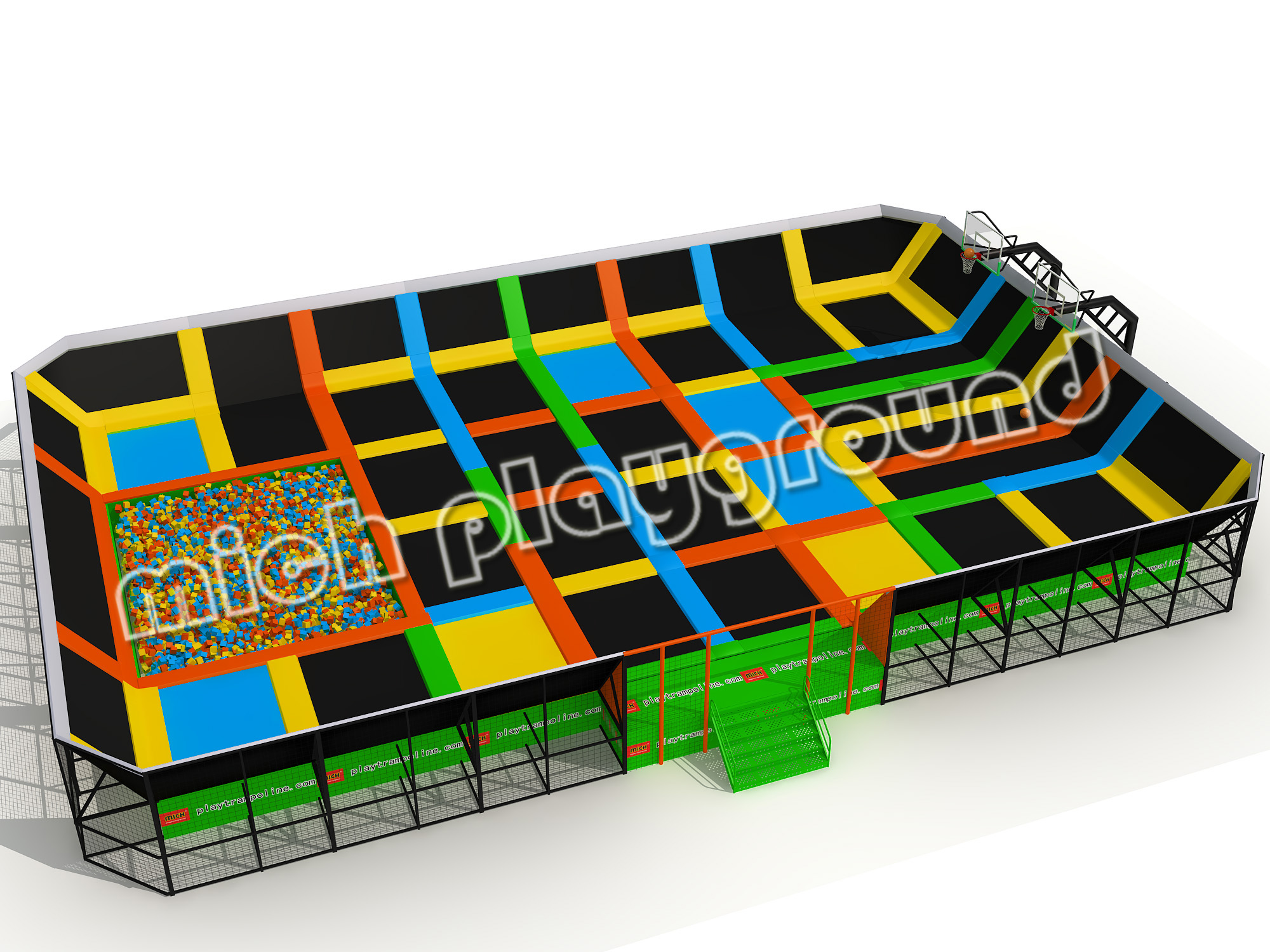 MICH Indoor Trampoline Park Design for Amusement 5110A