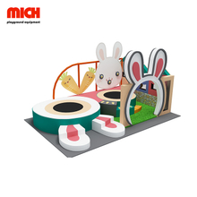 Mini Kids Rabbit Style Soft Indoor Playground for Sale