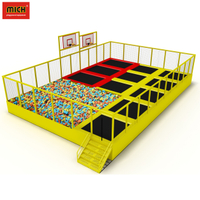 CE Certificated Commercial Jungle Gym Kids Indoor Playground For Sale