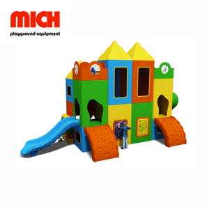 Manufacture Eco-friendly Plastic Outdoor Playground for Kids