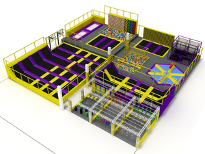Kids Adults Indoor Trampoline Park for Sale
