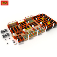 China Factory Fitness Sports Trampoline, Jumping Mat Indoor Trampoline Park