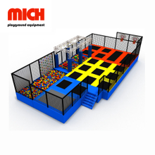 EU Standard Indoor Trampoline Park Jumping Equipment for Kids