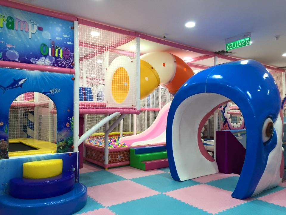 Indoor Playground Set at McDonalds in Singapore