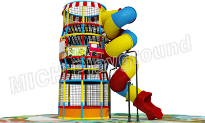 Hot Sale Indoor Amusement Soft Playground for Children 6614A