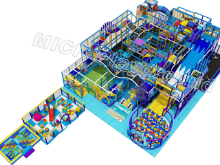 Ocean Theme Children's Indoor Soft Play Area