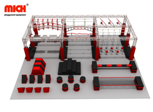 Custom Junior Ninja Warrior Course