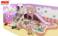 Mich Kids Indoor Colorful Soft Play with Ball Pool