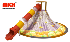 Indoor Climber And Tube Slides for Toddlers