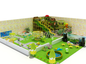 EN1176 Certificated Jungle theme indoor play area