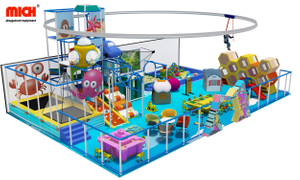 Top-rated Commercial Kids Indoor Soft Playground