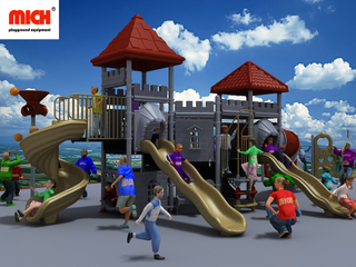 Customized Castle Themed Toddler Outdoor Playground