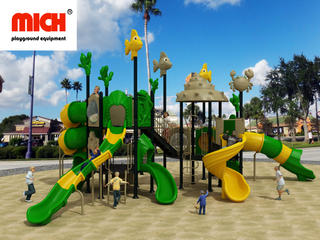 What equipment do you need to build an outdoor playground?