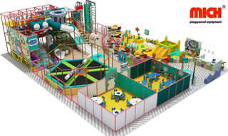 Colorful Free Design Kids Theme Indoor Playground for Sale
