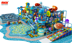 Aquarium Themed Kids Indoor Soft Playground