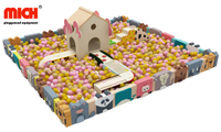 Kids Indoor Customized Cartoon Soft Pay Ball Pool with Games