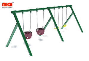 Good Quality Kids Outdoor Four Seats Swing Set for Sale