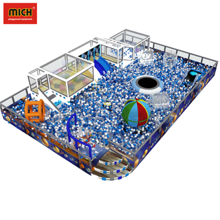 Soft Ball Pit Pool with Slide Games for Kids