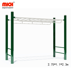 Horizontal And Vertical Parallel Bars Ladder Outdoor Fitness Equipment for Sale
