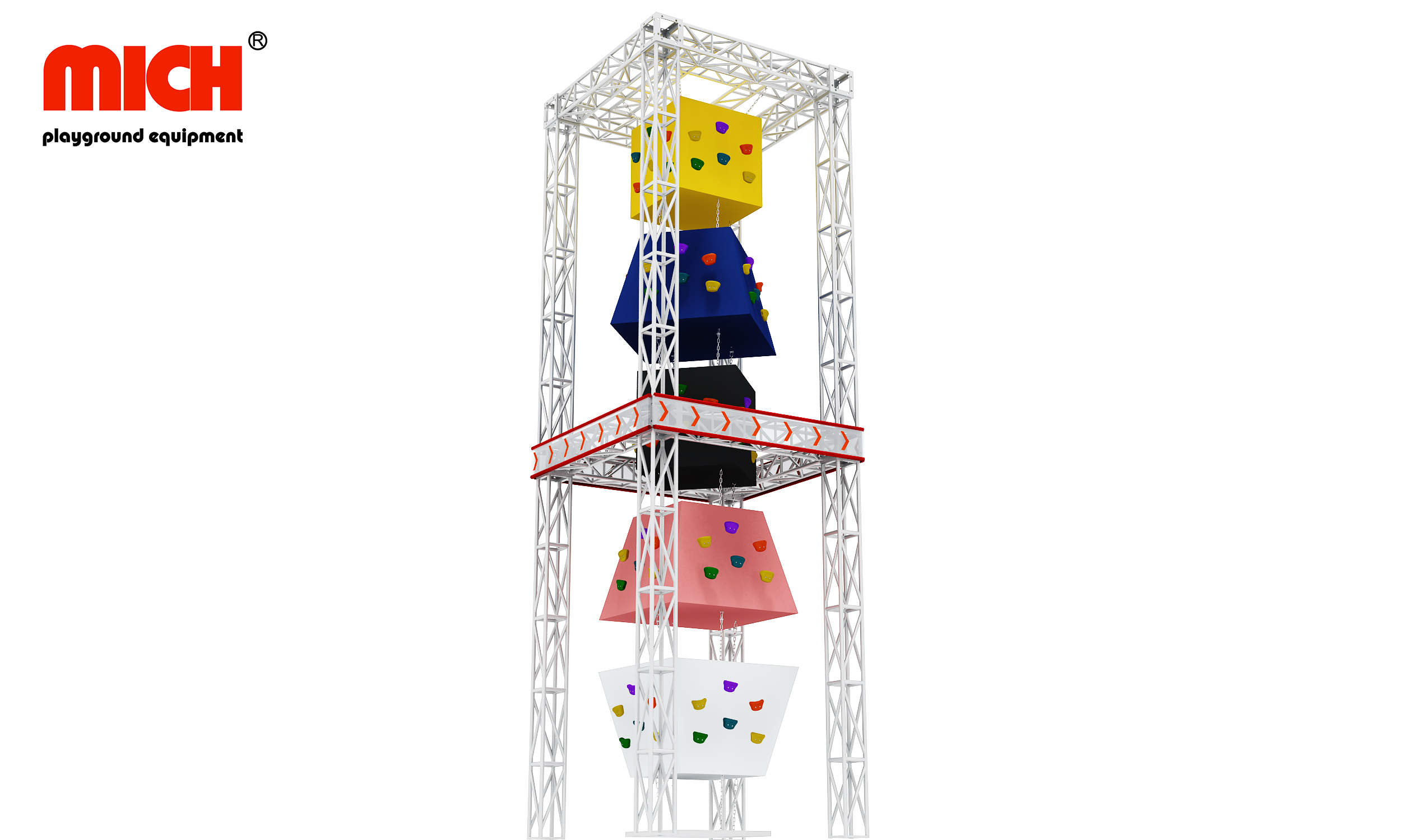 Mich Latest Indoor Safety Climbing Wall for Kids And Adult