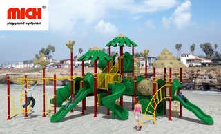 Big Custom Children Outdoor Jungle Gym