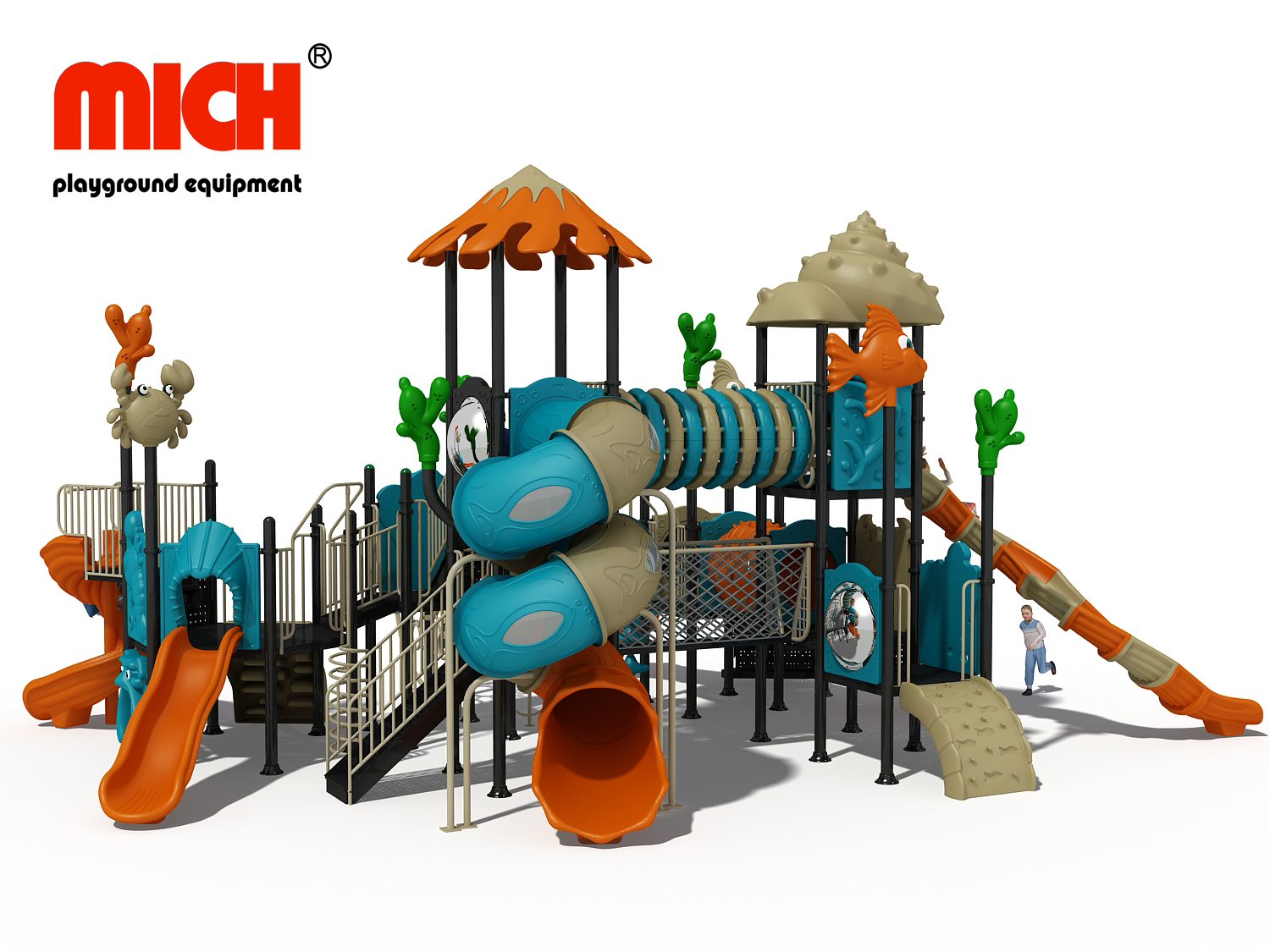 Chinese Supplier Sale Kids Outdoor Playground Equipment for Preschool/ Daycare