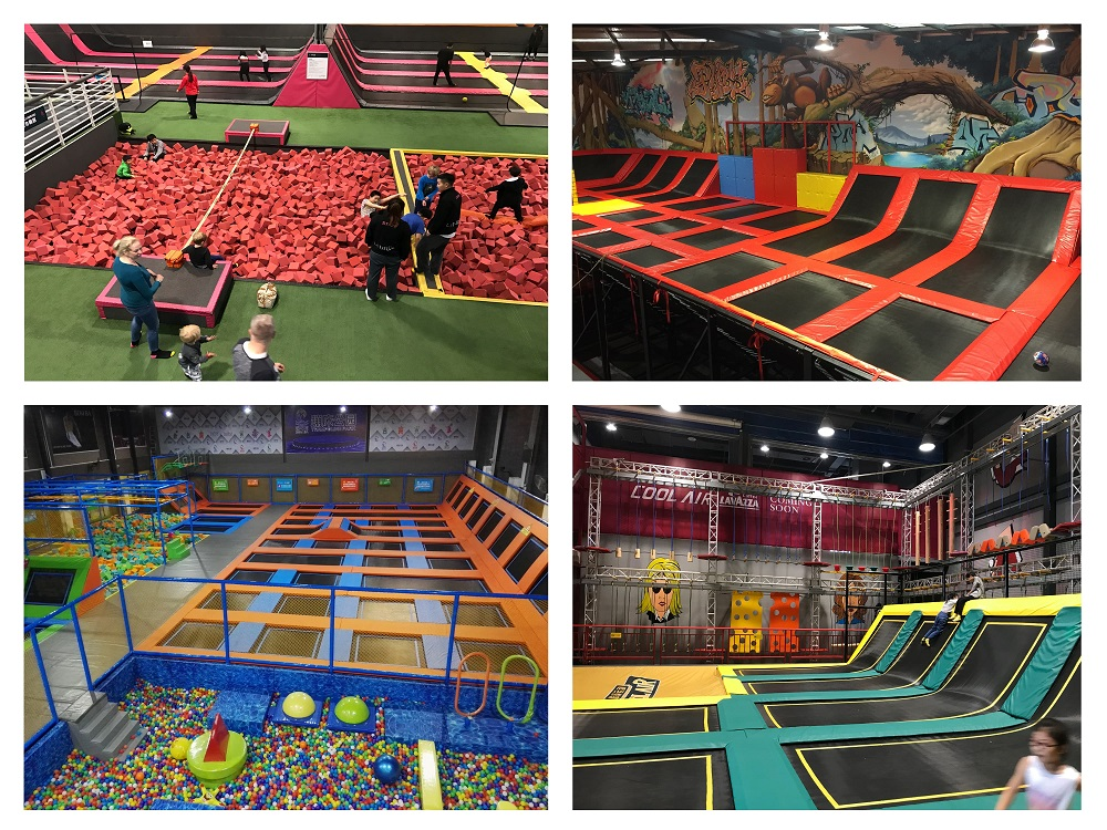 Mich Indoor Trampoline Park for Sale