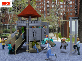 Mich Customized Kids Outdoor Play Facility