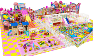Mich Manufacture Candy Theme Indoor Playground for Sale